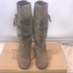 Nine West Vintage Collection Suede Boots